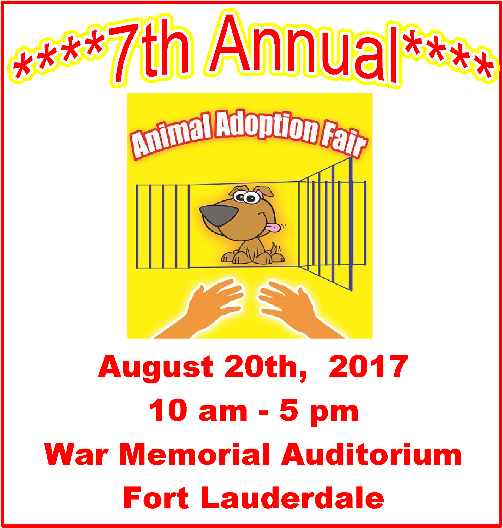 Annual Ft. Lauderdale Animal Adoption Fair